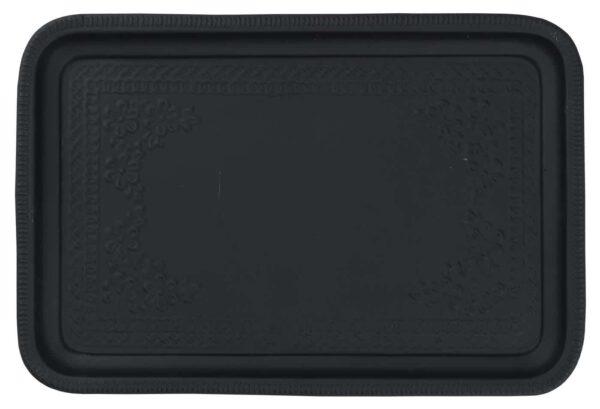 Ib Laursen, Metallinen Oblong-Tarjotin, 26,5x36, Musta