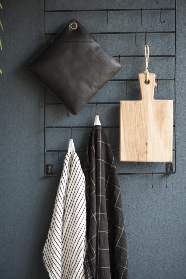Ib Laursen Hanger-ripustin, 40 koukkua, Musta, Metalli