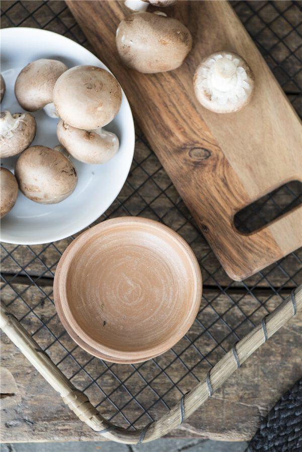 Ib Laursen, Tarjotin, Metalliverkko/bambu, Musta, L koko