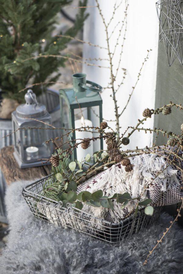 Ib Laursen, Harlequin-torkkupeitto, Viininpunainen/luonnonvalkoinen