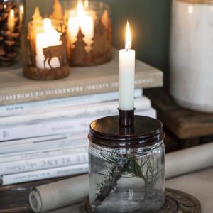 kynttiläpurki lyhyt kynttilä room boom shop