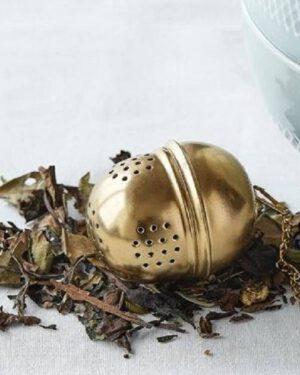 Nordal, Tea ball, Metalli, Kulta