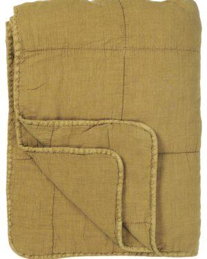 Ib Laursen, Quilt-torkkupeite, 130x180cm, Sinapinkeltainen